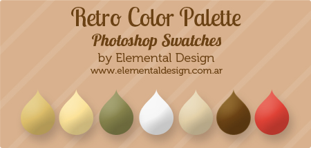 Retro. Color Swatch